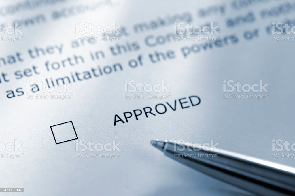 contract series royalty-free stock photo