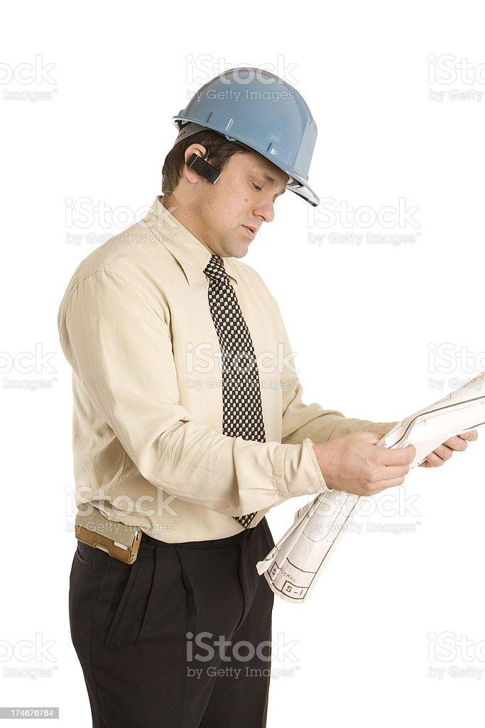 Contractor stock photo