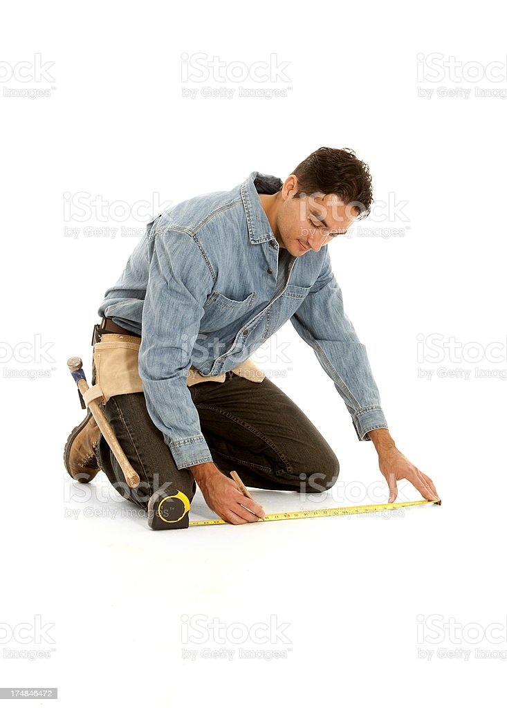 Contractor royalty-free stock photo