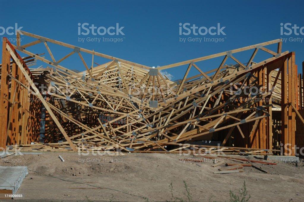 Contractors Nightmare stock photo