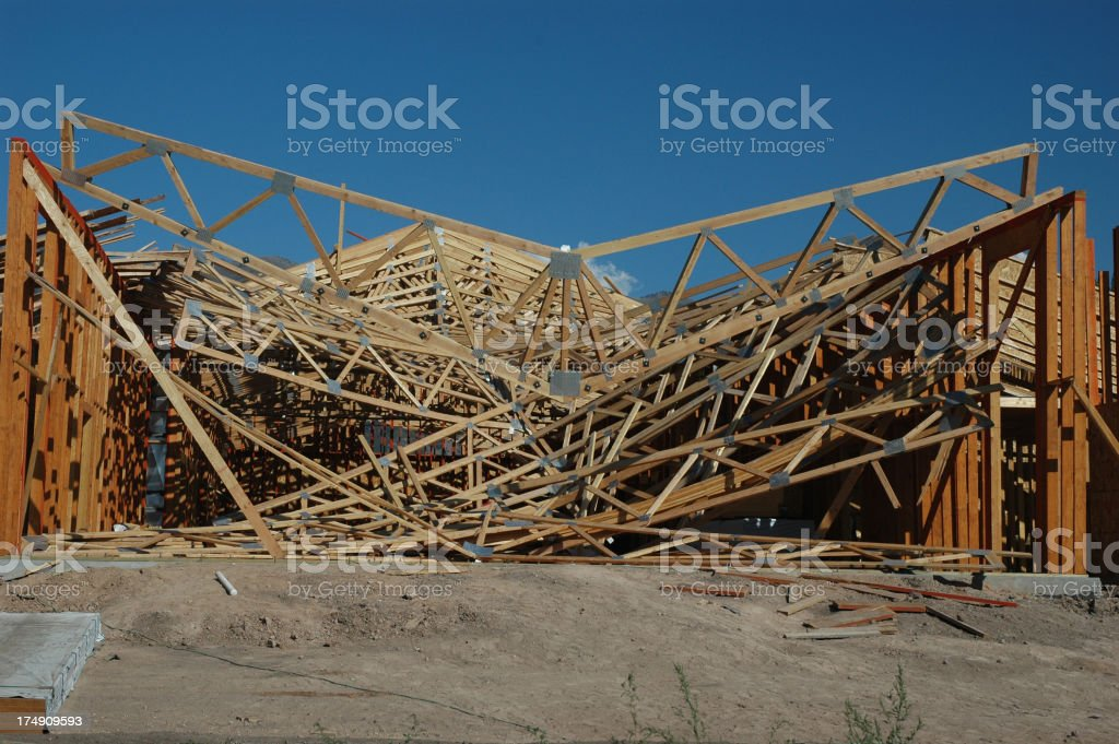 Contractors Nightmare stock photo