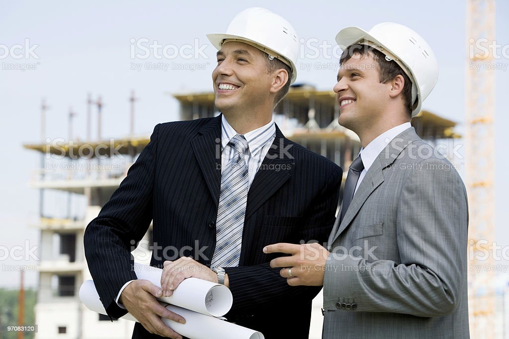 Contractors royalty-free stock photo