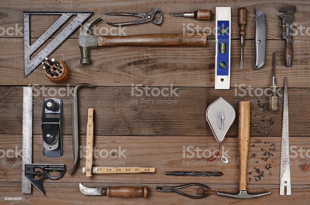 Contractors Tools stock photo