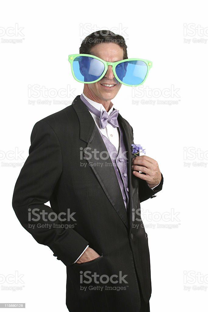 Contrast - Elegant & Silly royalty-free stock photo