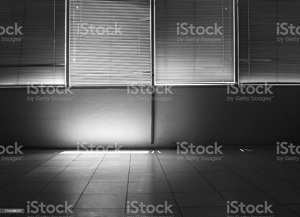 Contrast light from a window royalty-free stock photo