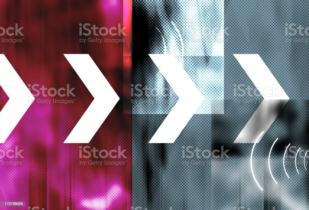 Contrasting Planes 2 royalty-free stock photo