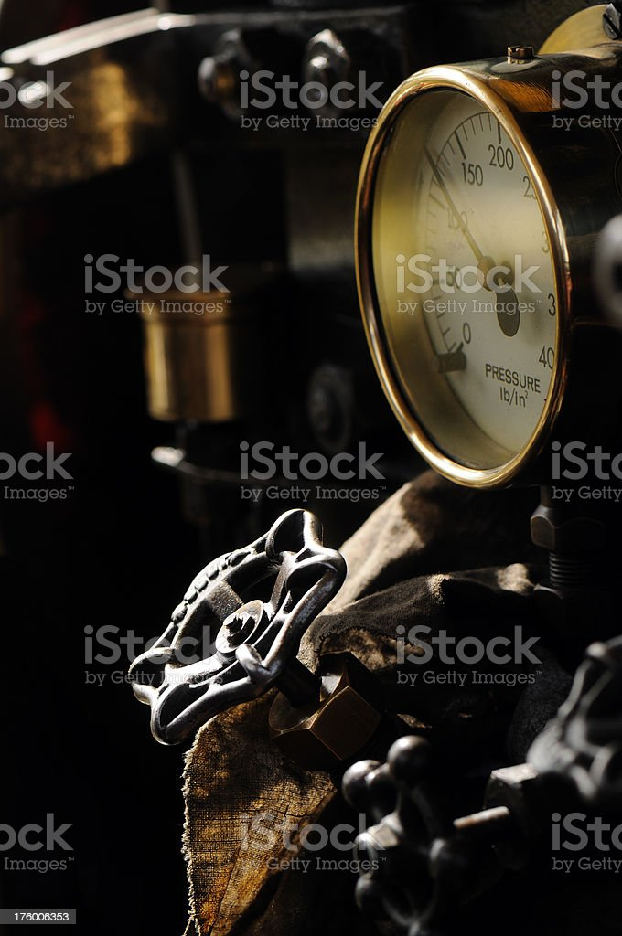 Control and Gauge royalty-free stock photo