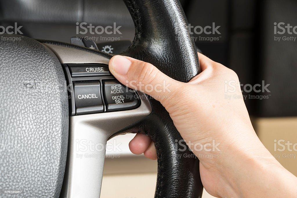control cruise button stock photo
