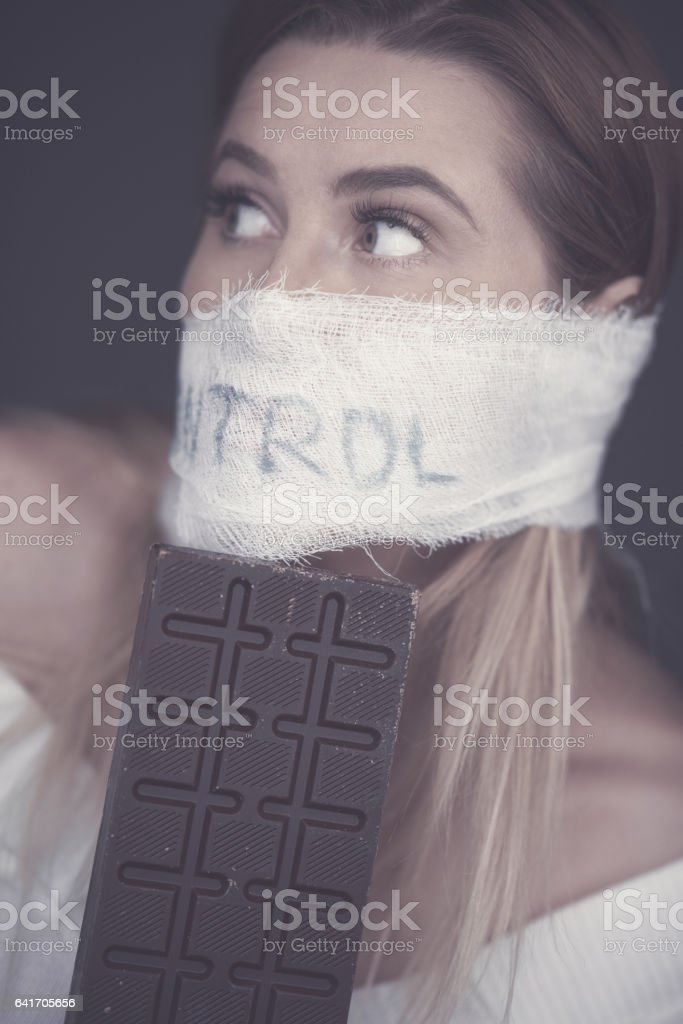 control for your health stock photo