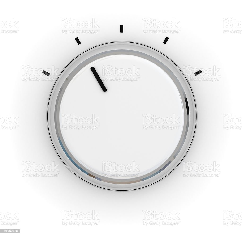 Control Knob royalty-free stock photo