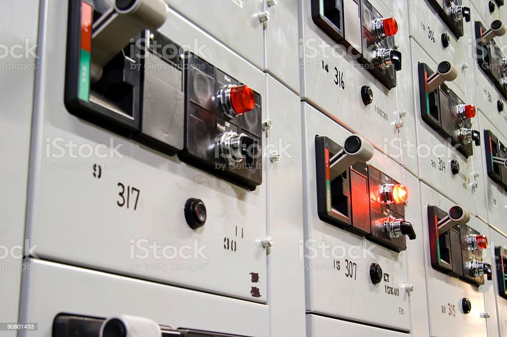 Control panel 1 royalty-free stock photo