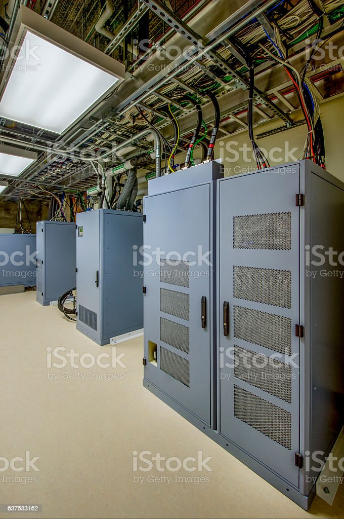 Control Panel for PET/CT Scanner stock photo