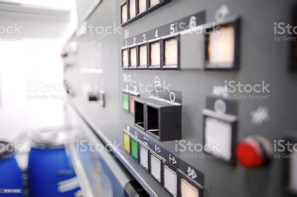 Control Panel... royalty-free stock photo