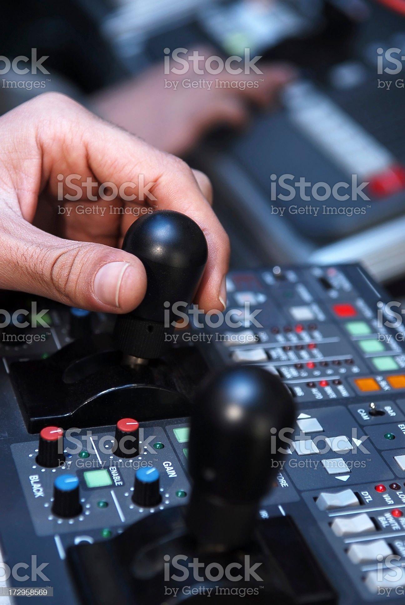 control panel series royalty-free stock photo