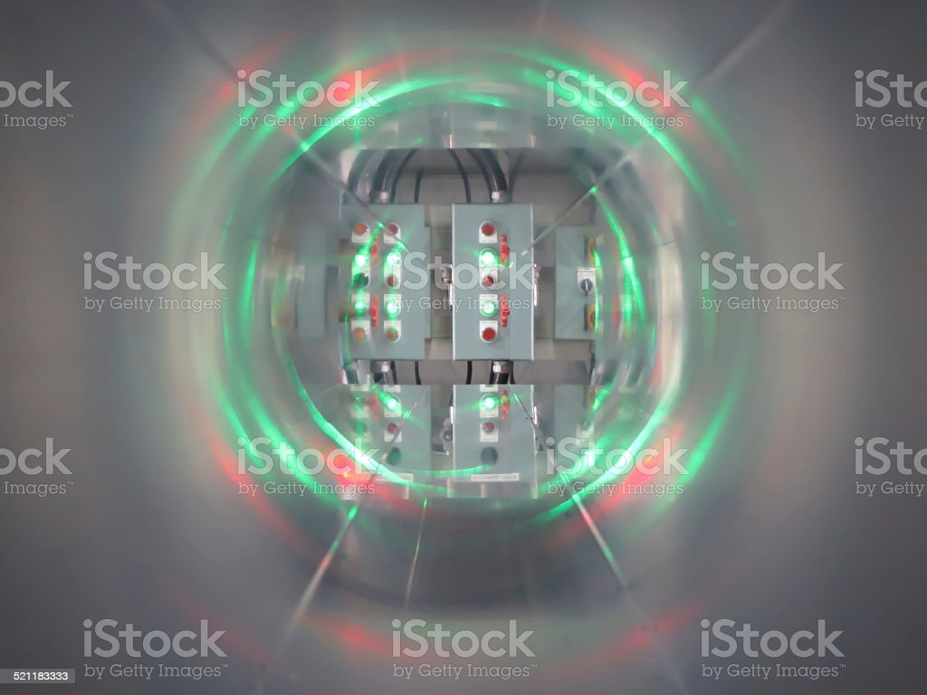 Control panels stock photo