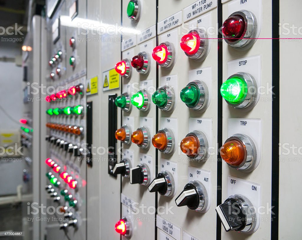 control switch stock photo