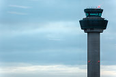 Control tower in airport