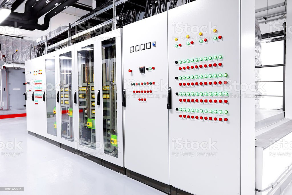 Control unit stock photo