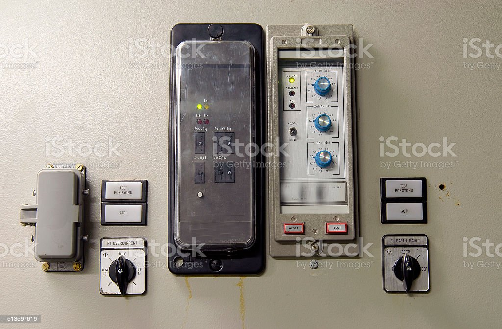 Controlling the operation, Turkey stock photo