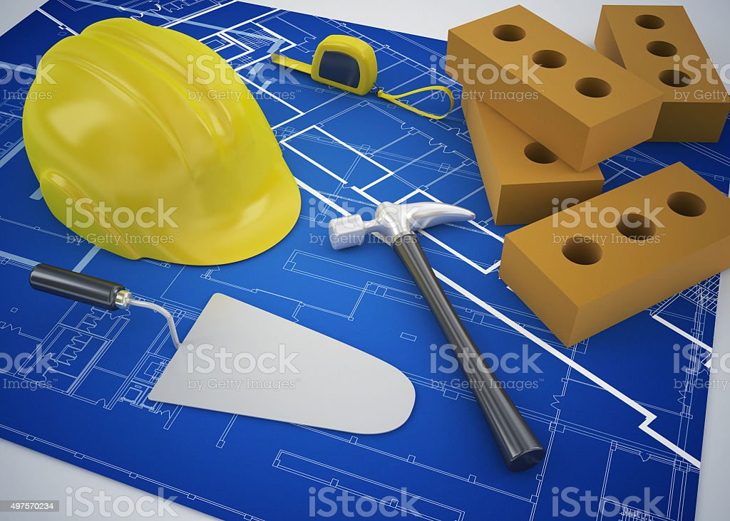contruction and building concept stock photo