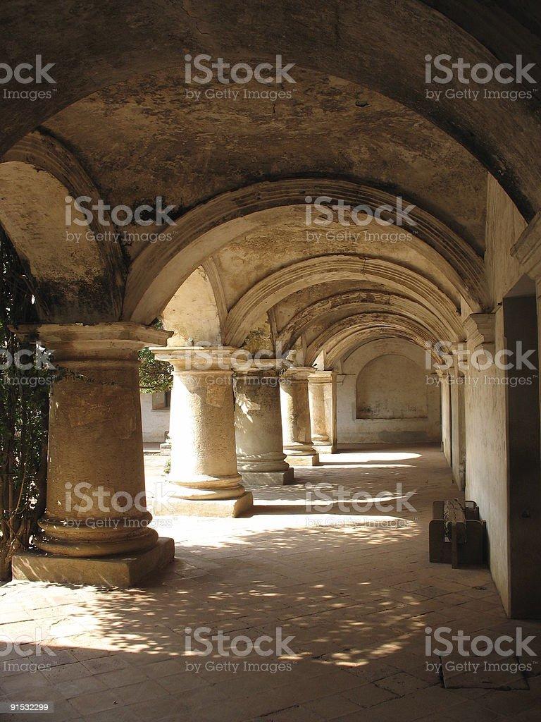 convent capuchinas royalty-free stock photo