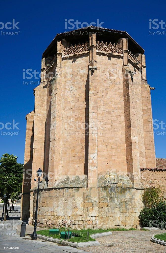 Convent Las Ursulas in Salamanca, Spain stock photo
