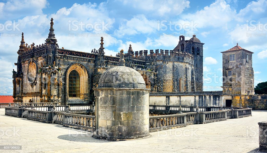 Convent of Christ, Tomar stock photo