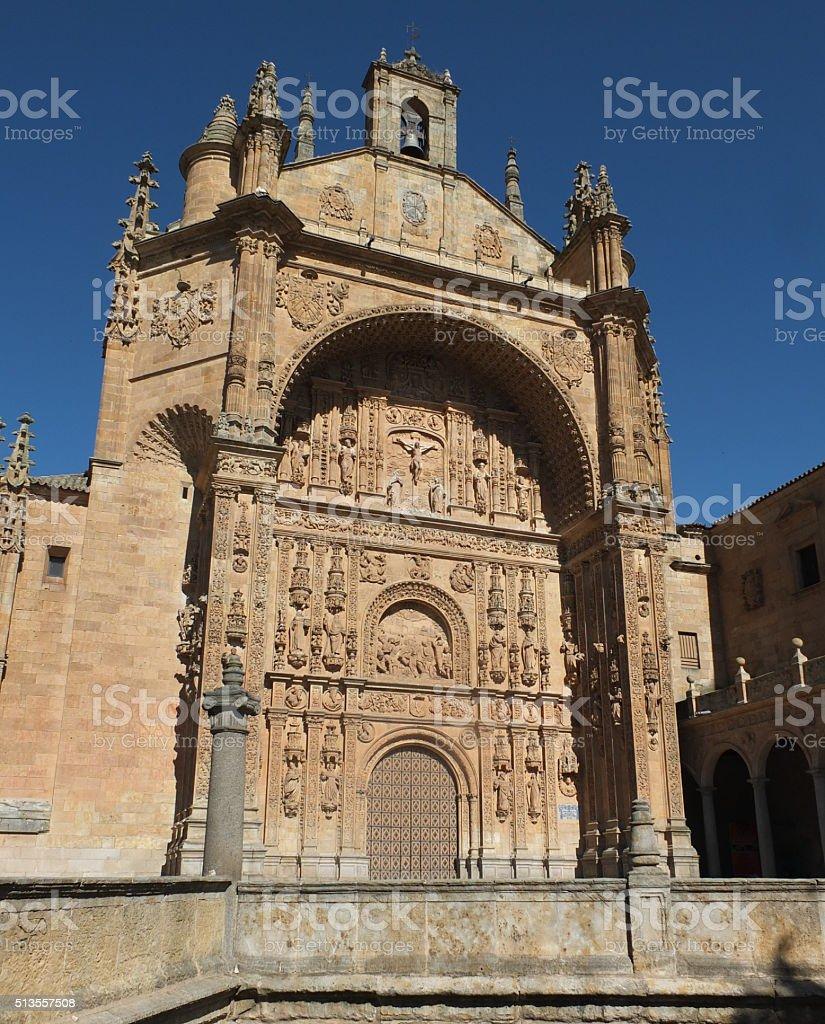 Convent of San Esteban stock photo