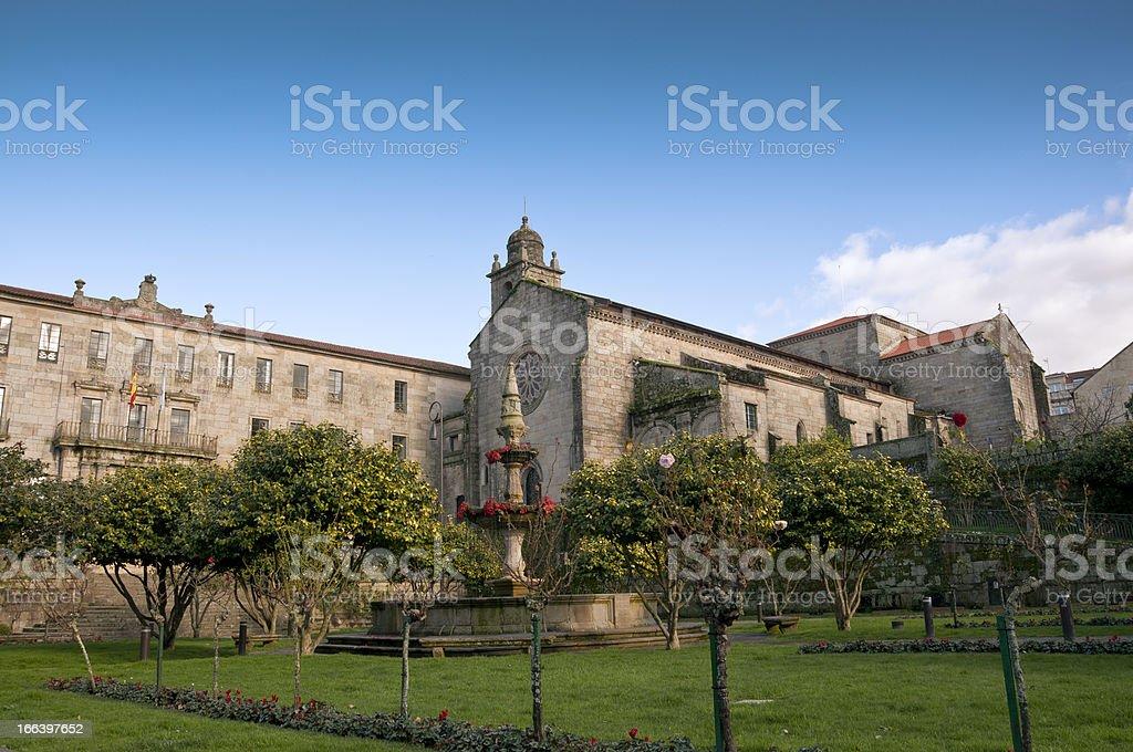 Convent of San Francisco royalty-free stock photo