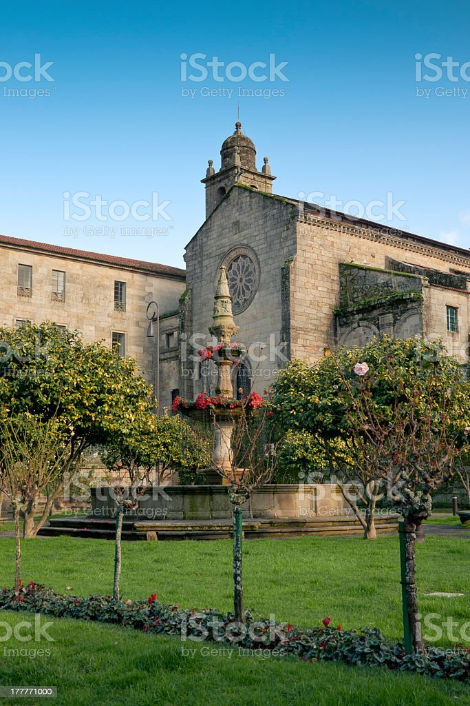 Convent of San Francisco royalty-free stock photo