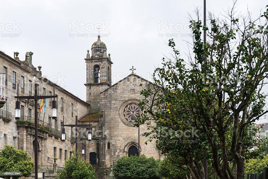 Convent of San Francisco, Pontevedra stock photo