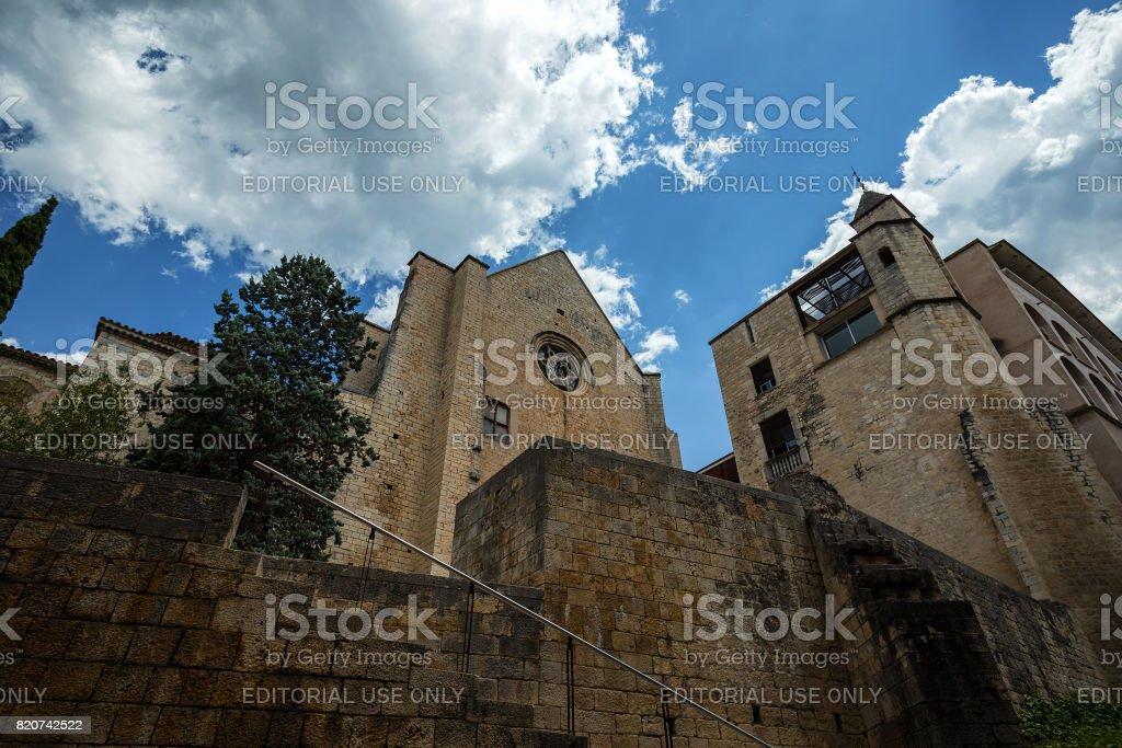 Convent Sant Domenec stock photo