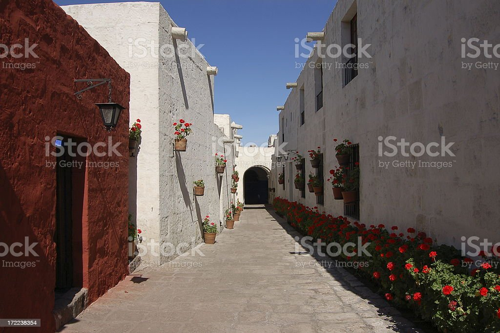 Convent Santa Catalina stock photo