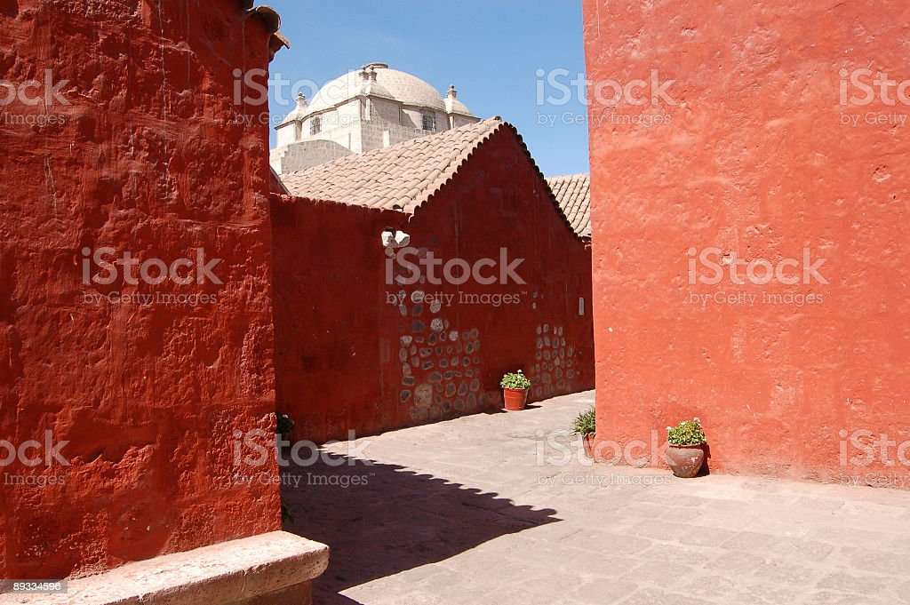Convent Santa Catalina royalty-free stock photo