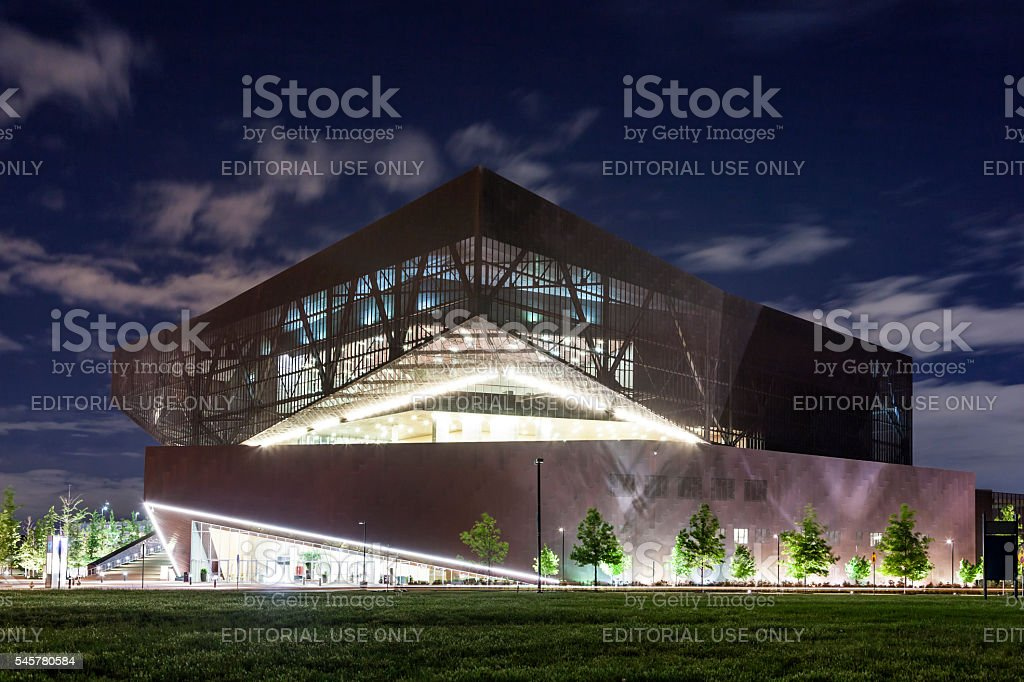 Convention Center in Irving, Texas stock photo
