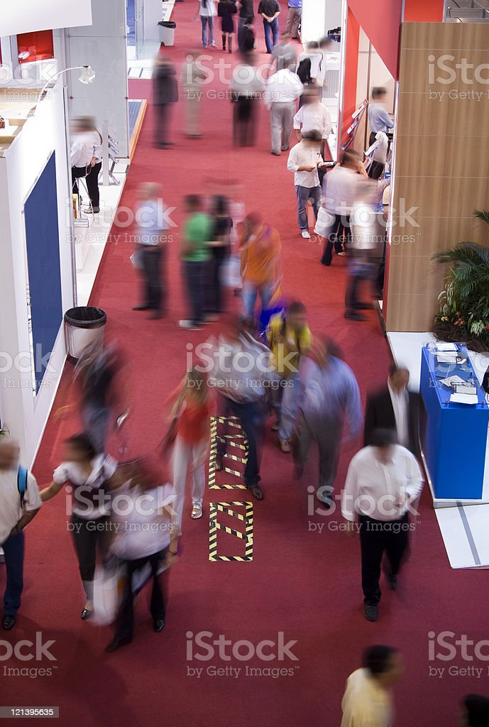 Convention center stock photo