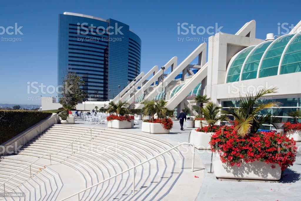 Convention Center San Diego stock photo