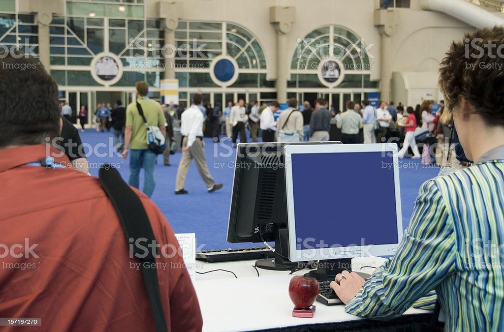 Convention, Trade Show & Expo stock photo