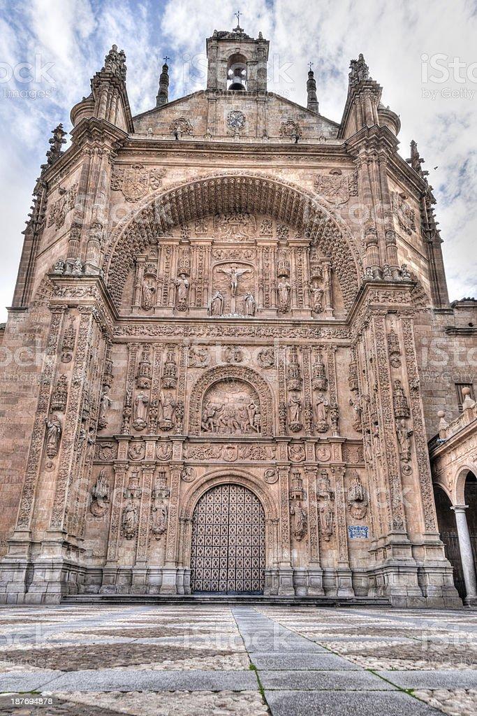 Convento de San Esteban, Salamanca, Spain stock photo