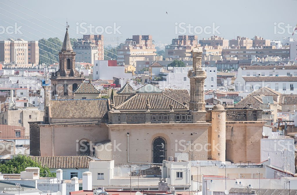 Conventual church of santa maria Montesion, Seville, Spain stock photo