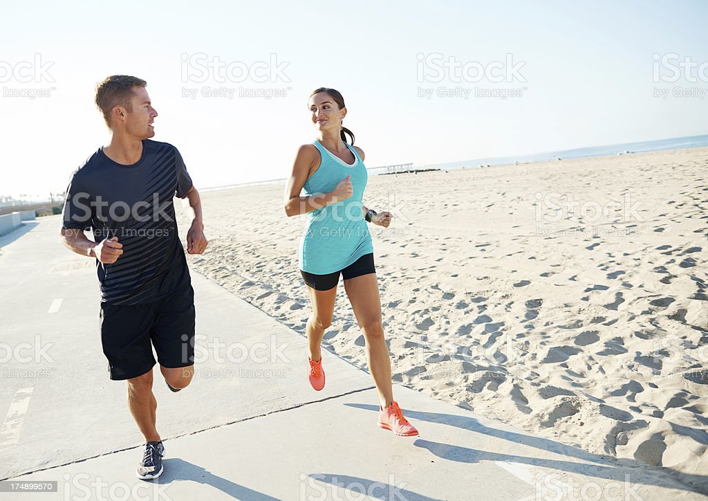 Conversation makes the road shorter royalty-free stock photo