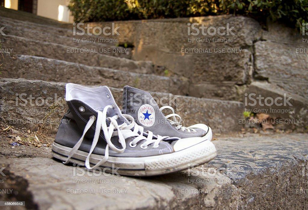 Converse Shoes stock photo