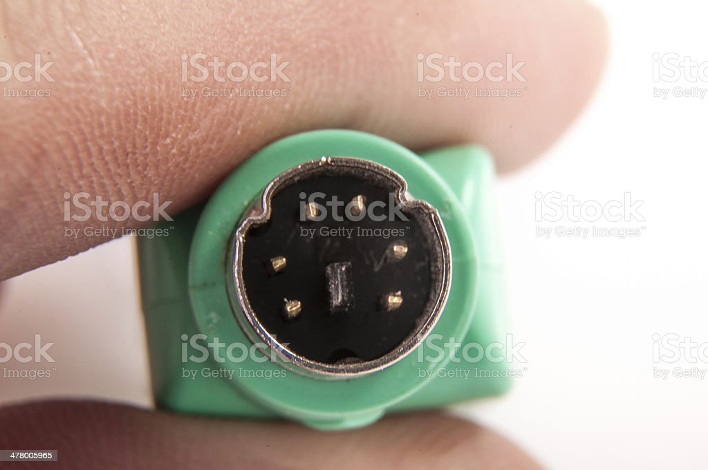 USB PS 2 Converter royalty-free stock photo