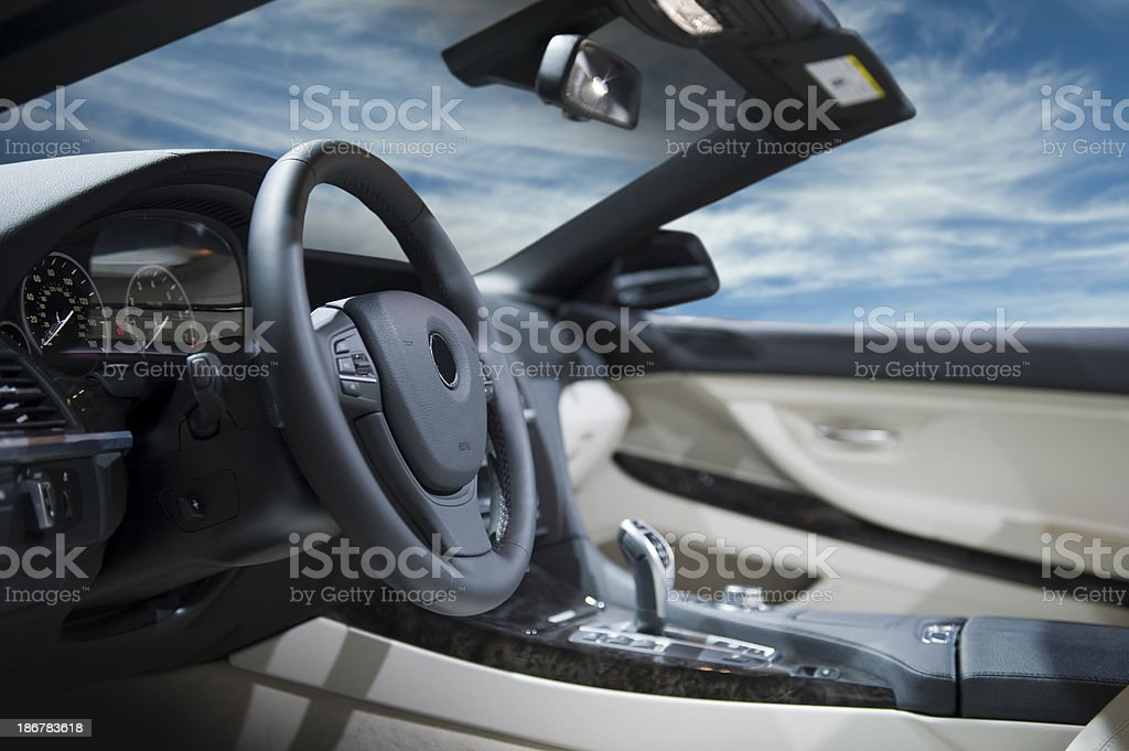 Convertible Car royalty-free stock photo