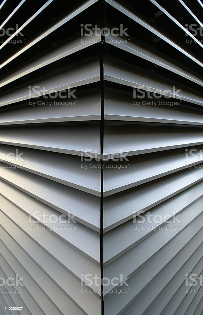 Convex abstract shape royalty-free stock photo