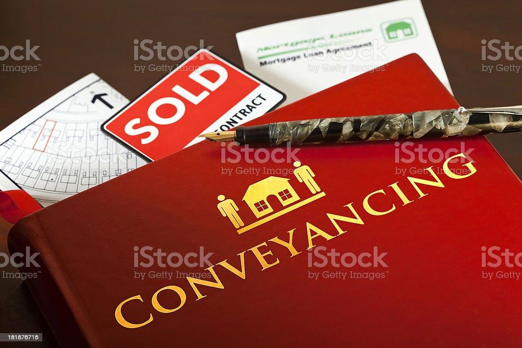 Conveyancing stock photo