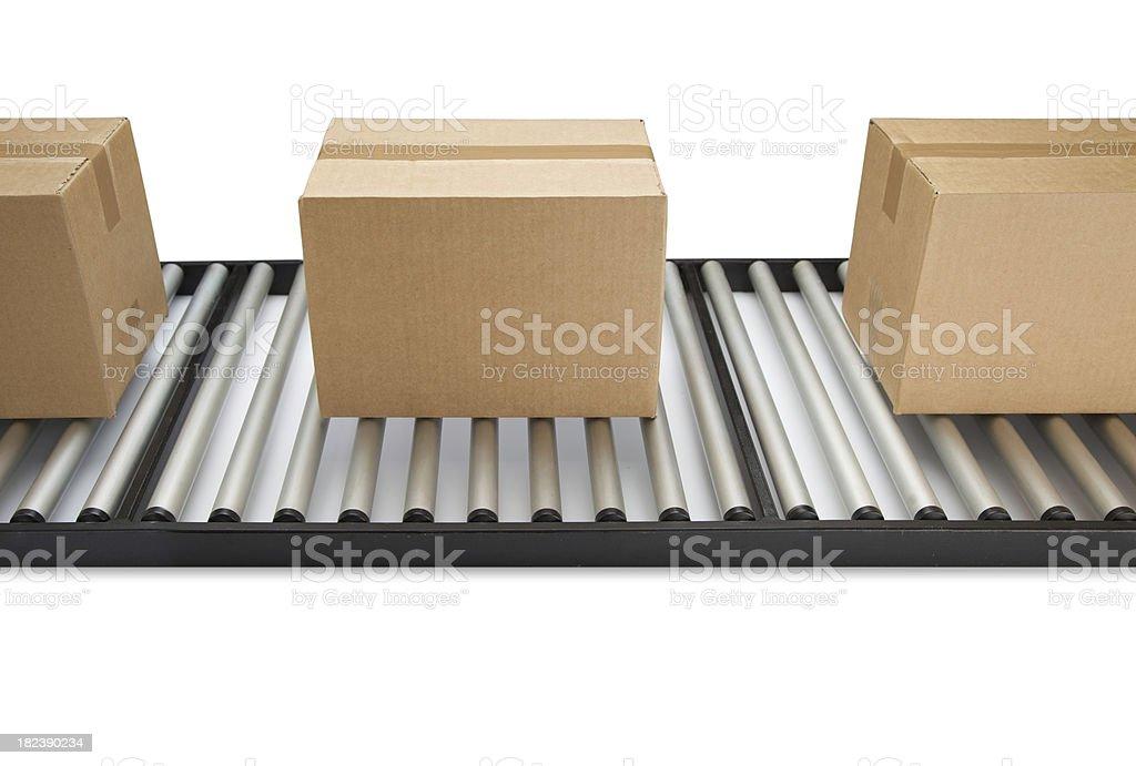 Conveyor Belt... royalty-free stock photo