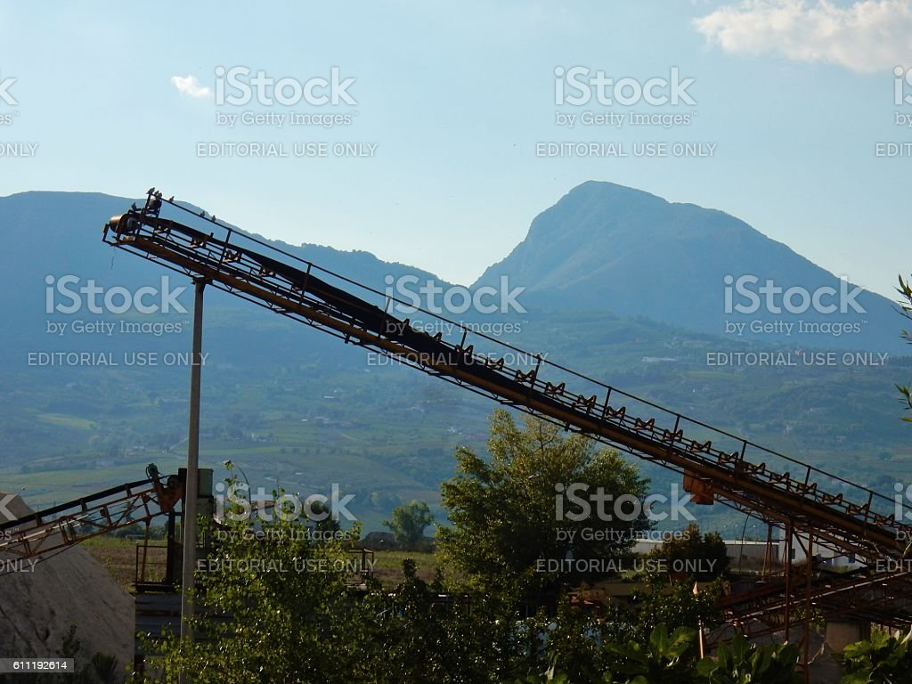 Nastro trasportatore stock photo