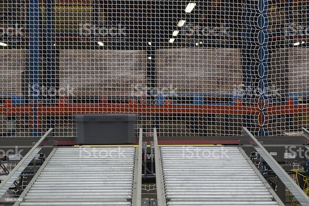 Conveyor System stock photo