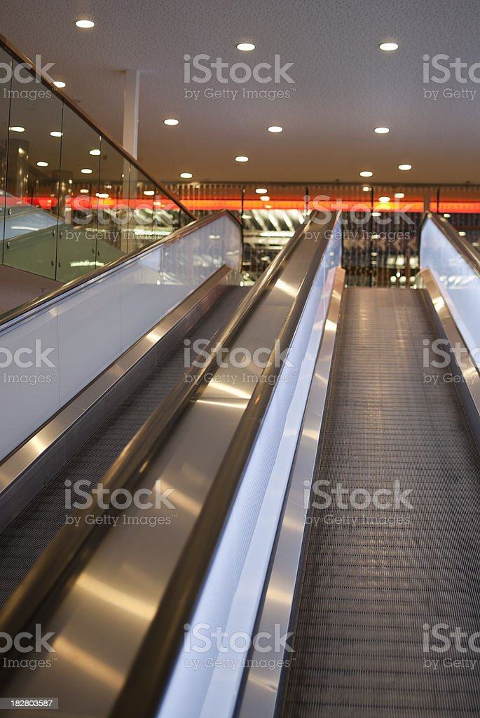 Conveyor Transports in Car Park royalty-free stock photo